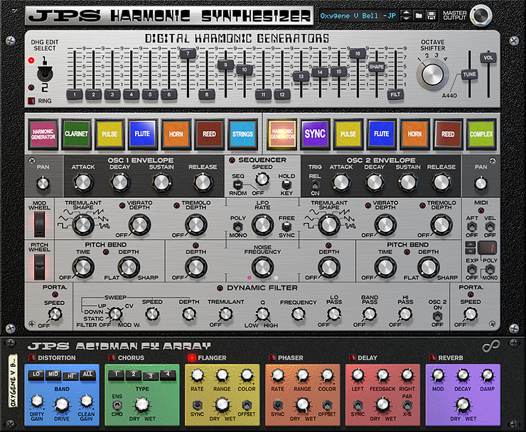 JPS Harmonic Synthesizer from Jiggery-Pokery